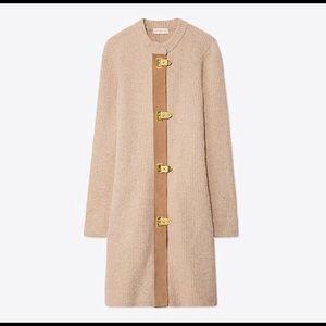 Tory Burch Rory Sweater Coat
